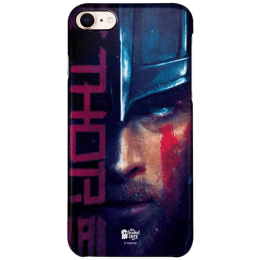 The Souled Store Thor - Mighty Polycarbonate Mobile Back Case Cover for Apple iPhone 8 (77802, Navy Blue)_1