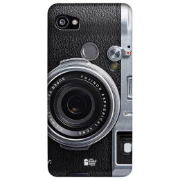 The Souled Store Real Camera Polycarbonate Mobile Back Case Cover for Google Pixel 2 XL (80358, Black)_1