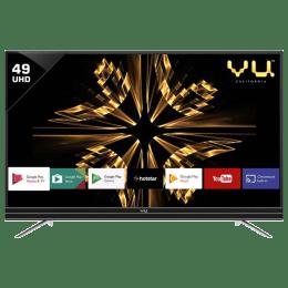 Vu 124 cm (49 inch) 4k Ultra HD LED Smart TV (49SU131, Black)_1