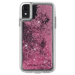 Case-Mate Waterfall Polycarbonate Back Case Cover for Apple iPhone XR (CM037764, Rose Gold)_1