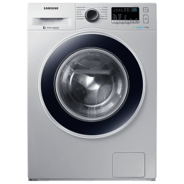 Samsung 7 kg Fully automatic Front Loading Washing Machine (WW70J4243JS/TL, Silver)_1