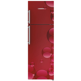 Liebherr 346 L 4 Star Frost Free Double Door Inverter Refrigerator (TCr 3520, Red Bubbles)_1