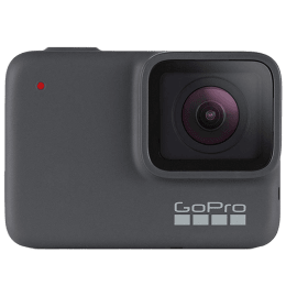 Go Pro Hero 7 10 MP Action Camera (CHDHC-601-RW, Silver)_1