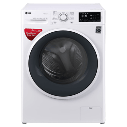 LG 7 kg Fully Automatic Front Loading Washing Machine (FHT1007SNWABWPEIL, Blue)_1