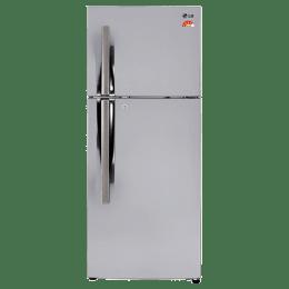 LG 260 L 4 Star Frost Free Double Door Inverter Refrigerator (GL-I292RPZL, Shiny Steel)_1