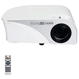 Miracle Digital Alpha Beam Lite HD Projector (LED 805, White)_1