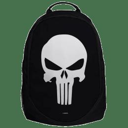 The Souled Store Punisher Skull 30 Litres Laptop Backpack (Punisher- Skull, Black)_1