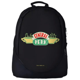 The Souled Store F.R.I.E.N.D.S- Central Perk 30 Litres Laptop Backpack (Black)_1