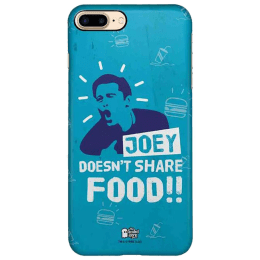 The Souled Store F.R.I.E.N.D.S - Joey Polycarbonate Back Case Cover for Apple iPhone 8 Plus (73997, Black)_1