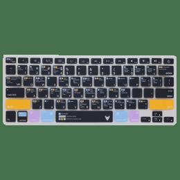 Robobull Mellow Amber Keyboard Protector for 11 Inch Apple MacBook Air (Mellow 01, Black/Orange)_1
