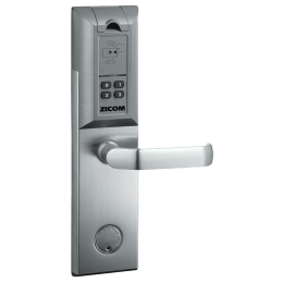 Zicom Biometric Right Finger Print Digital Door Lock (Z.FP.LO.S.R.NA, Silver)_1