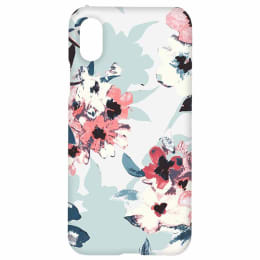 RedFinch Flower Print Hard Back Case Cover for Apple iPhone X/XS (HD_IP X_FLW_001, Multicolor)_1