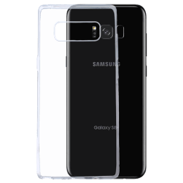Robobull Plastic Soft Back Case Cover for Samsung Galaxy S8 Plus (3700000358, Transparent)_1