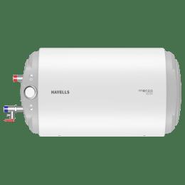 Havells Monza Slim 15 Litres Horizontal Storage Water Geyser (GHWBMCSWH015, White)_1