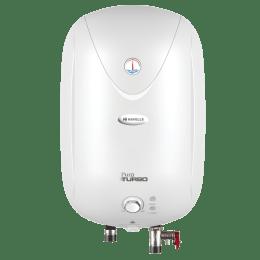 Havells Puro Turbo 15 Litres Vertical Storage Water Geyser (Feroglas Technology, GHWAPTTWH015, White)_1