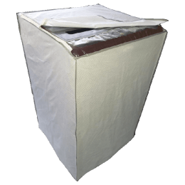 CNS Top Load 7.5 Kg Samsung and Whirlpool Washing Machine Cover (Grey)_1