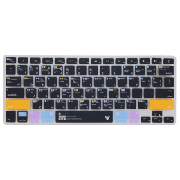 Robobull Mellow Amber Keyboard Protector for 13 Inch Apple MacBook Air (Mellow 03, Black/Orange)_1