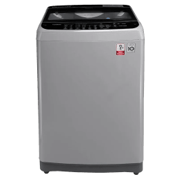 LG 7 kg Fully Automatic Top Loading Washing Machine (T8077NEDLJ, Middle Free Silver)_1