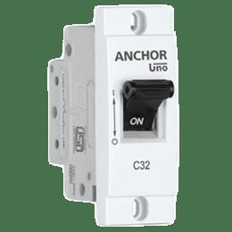 Anchor Uno Mini Modular MCB (98239, Grey)_1