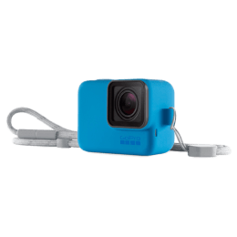 Go Pro Silicone Point & Shoot Sleeve (ACSST-003, Blue)_1