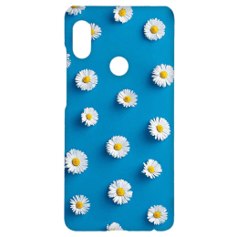 Cangaroo Sunflower Emboss Polycarbonate Hard Back Case Cover for Xiaomi Note 5 Pro (HD_RdmiN5P_Kri_008_SMLFLR, Blue)_1