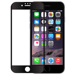 Robobull Toughn Tempered Glass Screen Protector for Apple iPhone 7/8 (3400000142, Black)_1