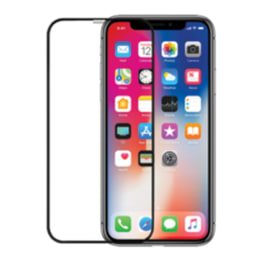 Robobull 3D Edge To Edge Toughn Tempered Glass Screen Protector for Apple iPhone X (3400000152, Black)_1