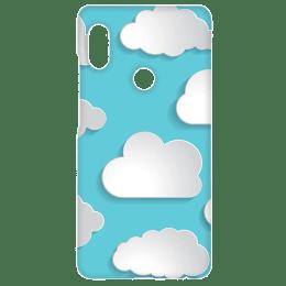 Cangaroo Big Clouds Emboss Polycarbonate Hard Back Case Cover for Xiaomi Redmi Note 5 Pro (HD_RdmiN5P_Kri_013, Blue)_1