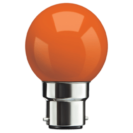 Syska PAG-N Electric Powered 0.5 Watt LED Bulb (Orange)_1