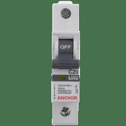 Anchor Uno Single Pole MCB (98004, Grey)_1