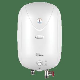 Havells Puro Turbo 25 Litres Vertical Storage Water Geyser (Feroglas Technology, GHWAPTTWH025, White)_1