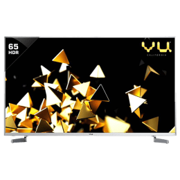 Vu 163 cm (65 inch) 4k Ultra HD LED Smart TV (65XT800X, Silver)_1