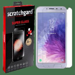 Scratchgard Tempered Glass Screen Protector for Samsung Galaxy J4 (Transparent)_1