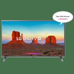 LG 127 cm (50 inch) 4k Ultra HD LED Smart TV (50UK6560PTC, Black)_1