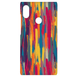 Cangaroo Chalc Colourful Textured Polycarbonate Hard Back Case Cover for Xiaomi Note 5 Pro (HD_RdmiN5P_Kri_023_ABTSTRIP, Multicolor)_1