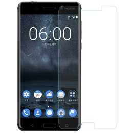 RedFinch Tempered Glass Screen Protector for Nokia 6.1 (Transparent)_1