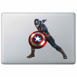 Macmerise Captain Stance Decal for 11 Inches Apple MacBook (MCDM13MM0134, Multicolor)_1