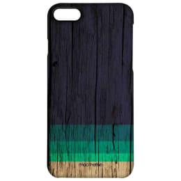 Macmerise Wood Stripes Blue Polycarbonate Back Case Cover for Apple iPhone 8 (IPCIP8PMI2298, Blue)_1