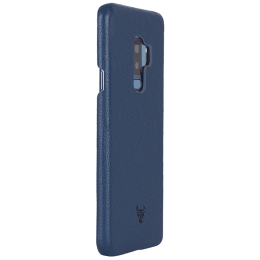 Robobull Smartkase Leather Back Case Cover for Samsung Galaxy S9 Plus (3700023513, Midnight Blue)_1