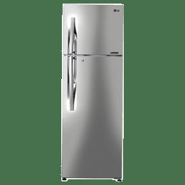 LG 308 L 2 Star Frost Free Double Door Inverter Refrigerator (GL-T322RPZU, Shiny Steel)_1