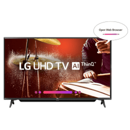 LG 109 cm (43 inch) 4k Ultra HD LED Smart TV (43UK6780PTE, Black)_1