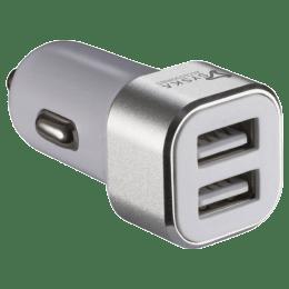 Syska Swift 2.4 Amp Car Charging Adapter (SWIFTWHS, White)_1