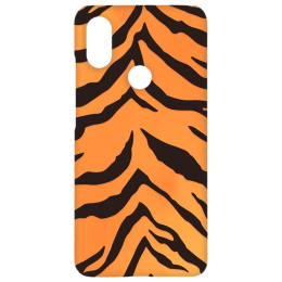 Cangaroo Tiger Textured Polycarbonate Hard Back Case Cover for Xiaomi A2 (HD_MiA2_Kri_025_TIGER, Yellow)_1