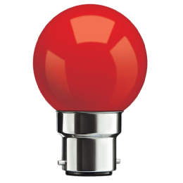 Syska PAG-N Electric Powered 0.5 Watt LED Bulb (Red)_1