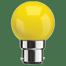 Syska PAG-N Electric Powered 0.5 Watt LED Bulb (Yellow)_1