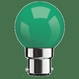 Syska PAG-N Electric Powered 0.5 Watt LED Bulb (Green)_1