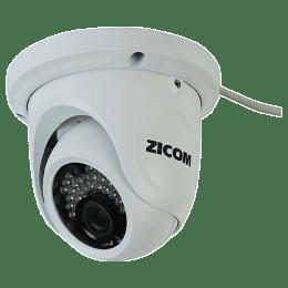 Zicom Network 1.3 MP IP Dome Camera (Z.CC.CA.IPDO.1MP02, White)_1