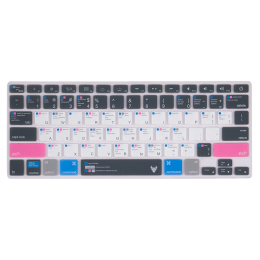 Robobull Mellow Blush Keyboard Protector for 12 Inch Apple MacBook Pro Retina (Mellow 11, Blue/Pink)_1