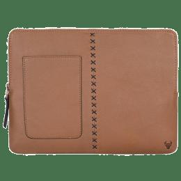 Robobull Leather 13 inch Laptop Sleeve (Tan)_1