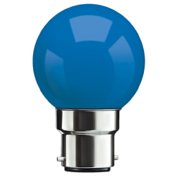Syska PAG-N Electric Powered 0.5 Watt LED Bulb (Blue)_1